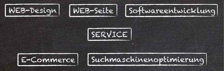 Produkte, Webdesign, München